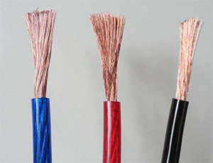 Single core PVC cables, double insulated wires for Class 2 equipments