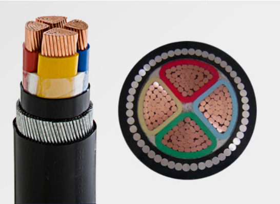 The grounding problem of Medium and Low-voltage power cables