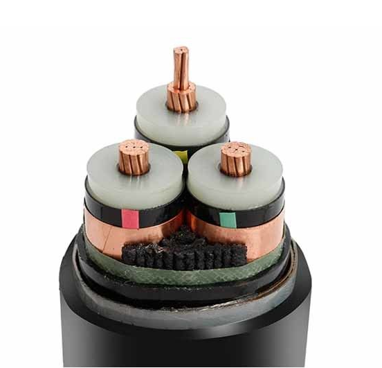3 core cable 240mm2 copper conductor XLPE insulated cable supplier