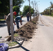 Peru: Low voltage underground line project